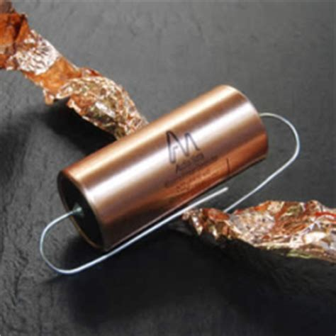 audio note silver foil capacitors audio note filled mylar capacitors