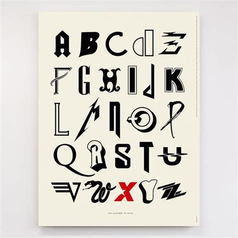music artists names from a to z alphabet of rock original open edition dorothy