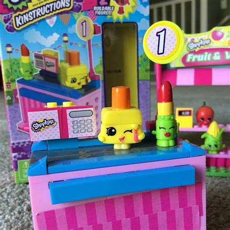 Shopkins Kinstructions Chekout best toys for 7 year a collection of and