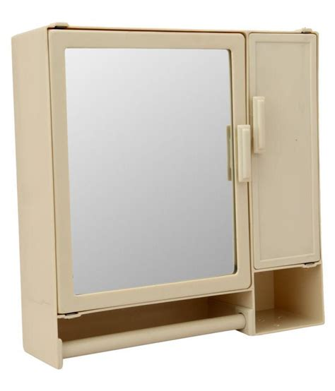 Buy Bathroom Mirror Cabinet Buy Zahab Two Door Plastic Cabinet Bathroom Care Partnerships