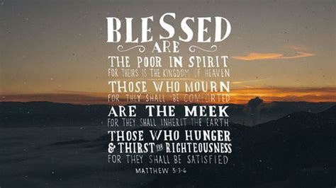 blessed are the poor in blessed are we the poor in spirit www nearlychristian