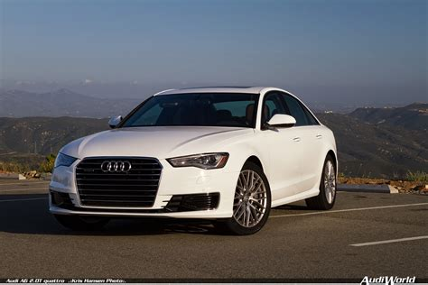 Audi A6 3 0 T Quattro by Road Tested 2016 Audi A6 2 0t Quattro Audiworld