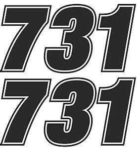 motocross race numbers race numbers motocross edurance car motorbike vinyl