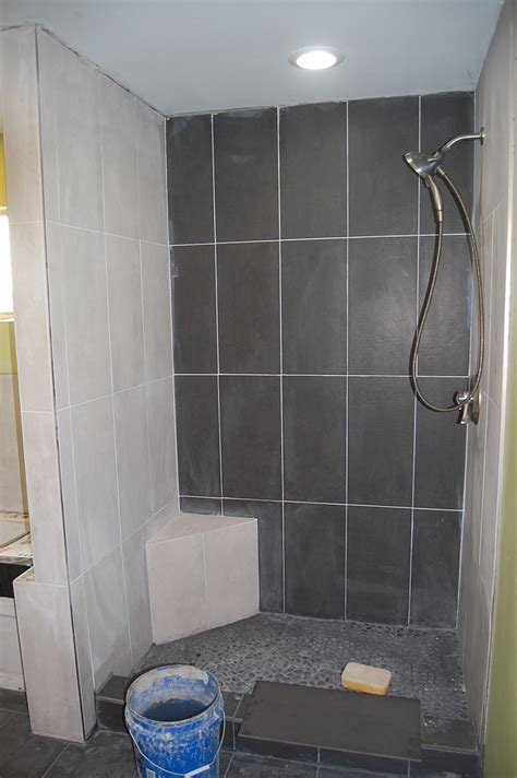 12x24 tile in small bathroom 6 x 24 tile installation images