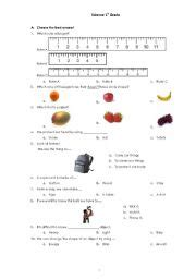 free science worksheet for grade 7 1000 ideas about