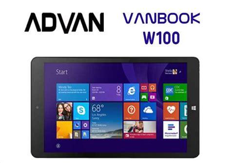 Tablet Advan Vanbook harga spesifikasi advan vanbook w100 tablet windows 8 1