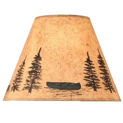 log cabin l shades green canoe l shade