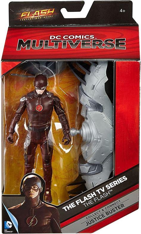 Mattel Dc Multiverse The Flash Earth 2 dc flash tv series multiverse justice buster series the flash 6 figure mattel toys toywiz