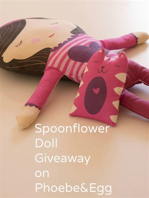 Doll Giveaway - spoonflower doll giveaway phoebe egg