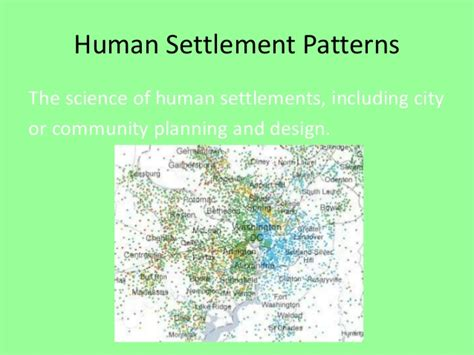 pattern definition human geography human geography terms