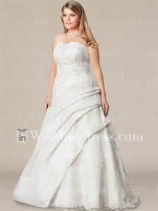 second plus size wedding dresses style ps095 the day i am mrs davis forever
