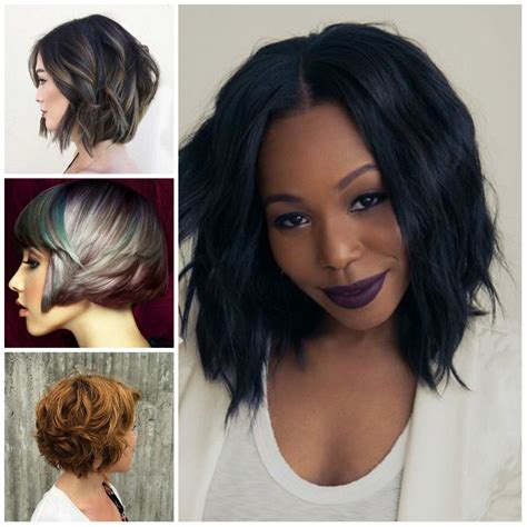 Pictures Of Black Hairstyles For 2017 by Black Layered Bob Hairstyles 2017 Hairstyles Ideas