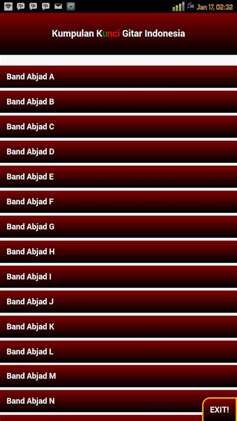 Buku Lirik Lagu Jadul 59 kumpulan kunci gitar indonesia android apps on play