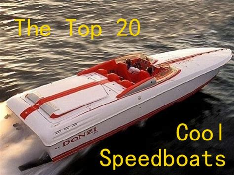 fast boat ever the top 20 coolest speed boats cigarette racers sub5zero