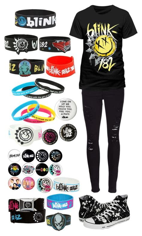 Sneakers Blink Blink 610 quot blink 182 concert quot by kellyjellybelly liked on polyvore featuring 208 188 208 190 208 180 208 176 blink frame