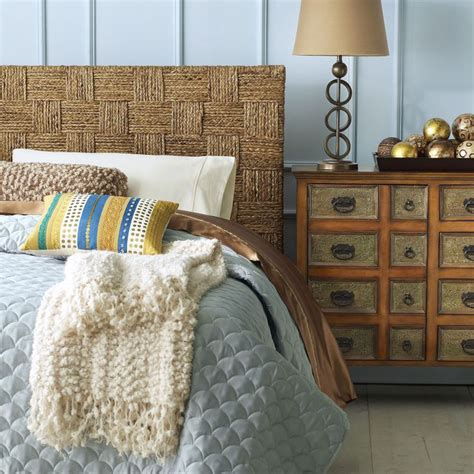 Seagrass Headboards by Seagrass Block Headboards For The Home