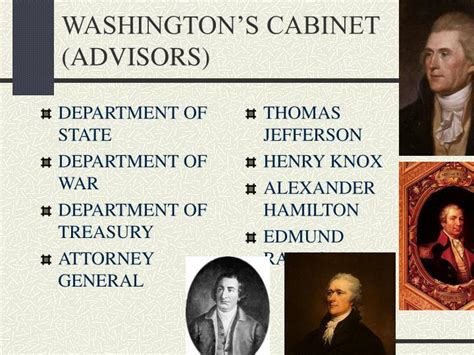 Washington S Cabinet Advisors Digitalstudiosweb Com