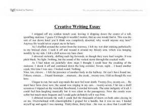 Creative Writing Essay by Free Exles Of Creative Writing Essays Free Essays Term Papers Research Paper Book Reports