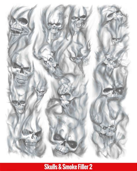smoke skull tattoo designs hook up tattoos skulls smoke filler 2 frends supply