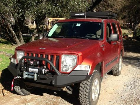 Jeep Liberty Bumper Custom At The Helm Front Bumper Need Jeep Liberty Kk