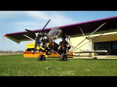 airbike ultralight engine tandem airbike clipped wing hks 700e engine runup youtube