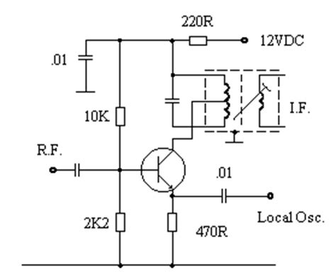 bjt transistor mixer how to measure peak peak oscillator output the radioboard forums