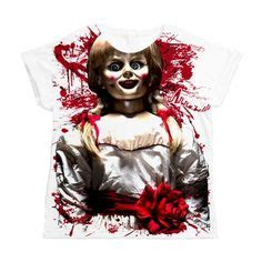 annabelle doll t shirt annabelle doll with it scary dolls