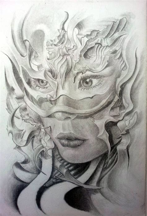 female face tattoo drawing search drawing ideas