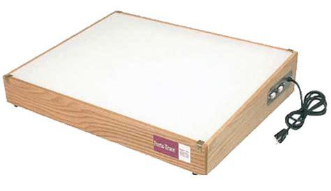 light box tracing table gagne porta trace lightbox 12 quot x 14 quot oak frame light