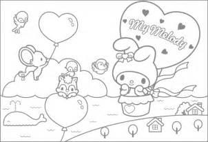 塗り絵 無料 キャラクター サンリオ マイメロディ まとめ キャラクターぬりえ無料 妖怪ウォッチやディズニー