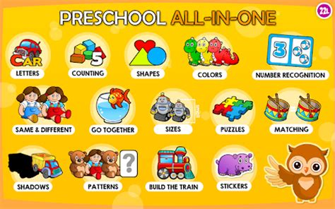 Bright Books Pre Primary abby basic skills preschool android apps on play
