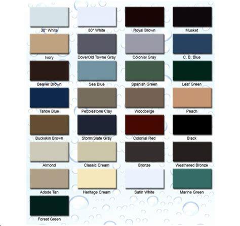 gutter colors gutter colors a plus gutter systems 323 405 4555