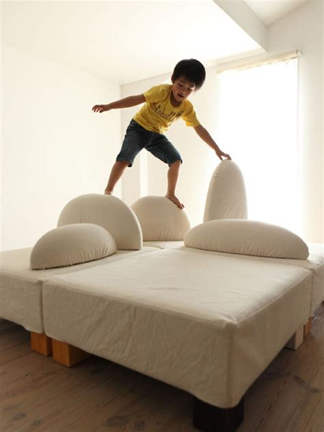 ecological  funny furniture  kids bedroom