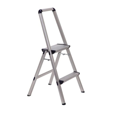aluminum step stool with handle xtend climb ultra 2 step light weight aluminum stool
