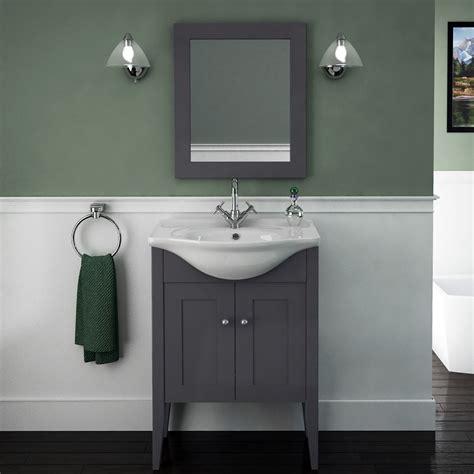 Carolla Vanity Unit And Basin (Charcoal Grey) Buy Online
