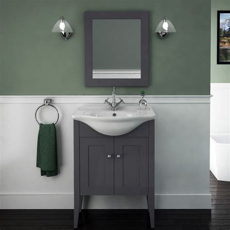 Carolla Vanity Unit And Basin Charcoal Grey Buy Online
