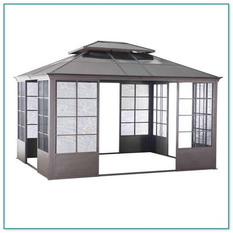 screen house gazebo outdoor screen house gazebos
