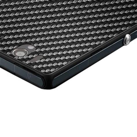 Skin Handphone Carbon Texture For Sony Xperia Zl spigen skin guard for sony xperia z carbon black mobilezap australia