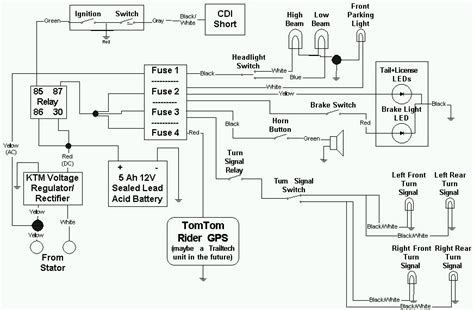 yc ktm  xc  wiring diagram schematic wiring