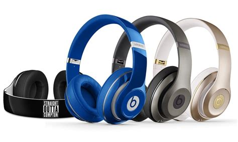 Headphones Wireless Ms 881 Beats By Dr Dre Fh028 5 beats by dr dre studio 2 0 wireless ear headphones groupon