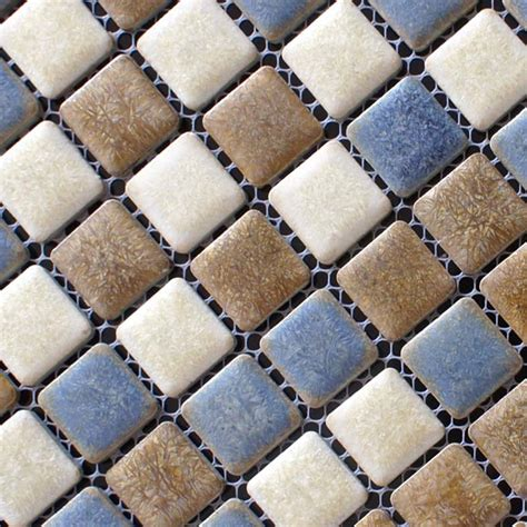 1 Mosaic Floor Tile - porcelain mosaic floor tiles pattern backsplash