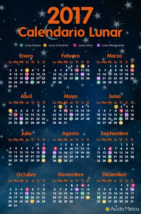que fecha empieza la siguiente luna nueva misionero ambiental calendario lunar 2017 y 2018