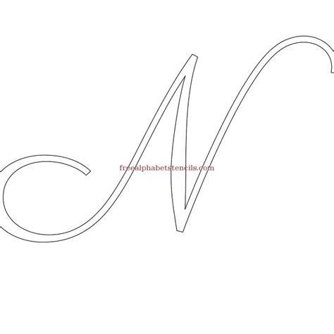 printable calligraphy number stencils bridal calligraphy alphabet stencils