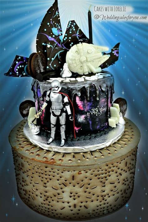 easy star wars cakes  cool cake decorating techniques