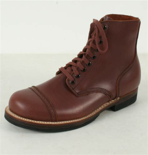 ww2 boots us ww2 service boots russet brown