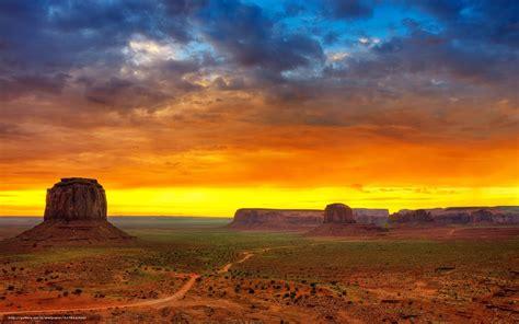 wallpaper desert mountains sky  desktop