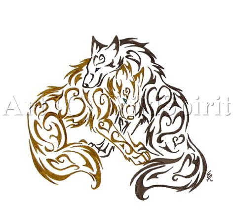 always with you tattoo commish by wildspiritwolf on deviantart