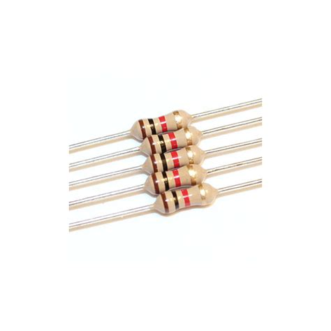 resistors description 1k ohm 1 4w carbon resistor