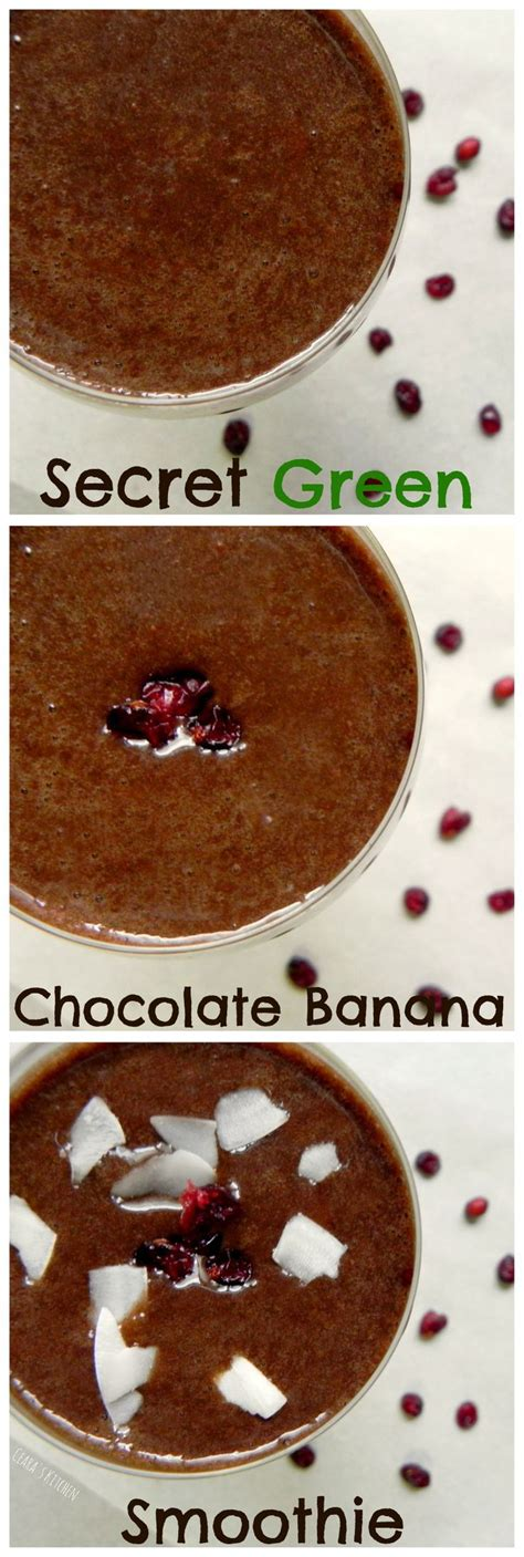 Chocolate Smoothie Recipe Detox by 1000 Ideas About Chocolate Banana Smoothie On
