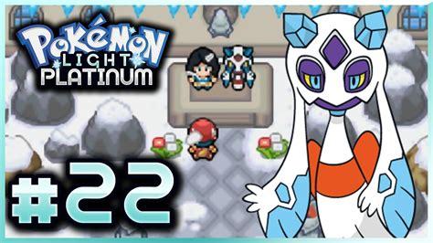 pokemon mega light platinum let s play pokemon light platinum part 22 snowce gym